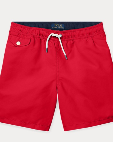 폴로 랄프로렌 Polo Ralph Lauren Traveler Swim Trunk,RL 2000 Red