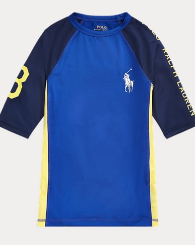 폴로 랄프로렌 Polo Ralph Lauren Stretch Jersey Rash Guard,Rugby Royal