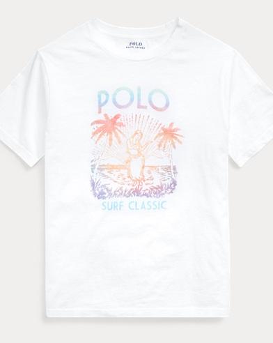 폴로 랄프로렌 Polo Ralph Lauren Cotton Jersey Graphic Tee,White