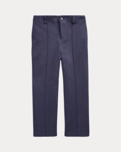 폴로 랄프로렌 Polo Ralph Lauren Cotton-Blend-Jersey Trouser,Navy