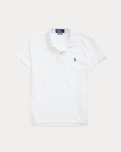 폴로 랄프로렌 우먼 어스 폴로 셔츠 - 화이트 (커스텀 슬림 핏) Polo Ralph Lauren The Earth Polo