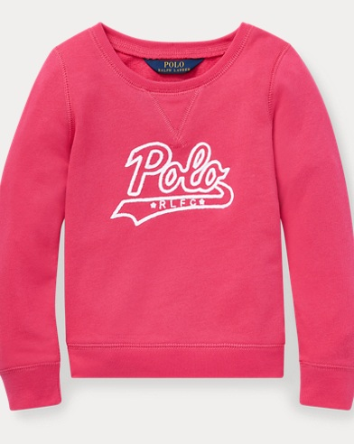 폴로 랄프로렌 Polo Ralph Lauren Polo Atlantic Terry Pullover,Ultra Pink