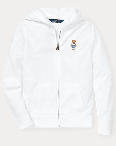 폴로 랄프로렌 Polo Ralph Lauren Cricket Bear Hoodie,White