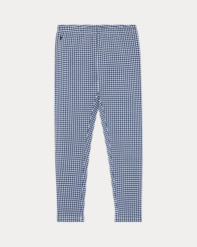 폴로 랄프로렌 Polo Ralph Lauren Gingham Stretch Legging,French Navy