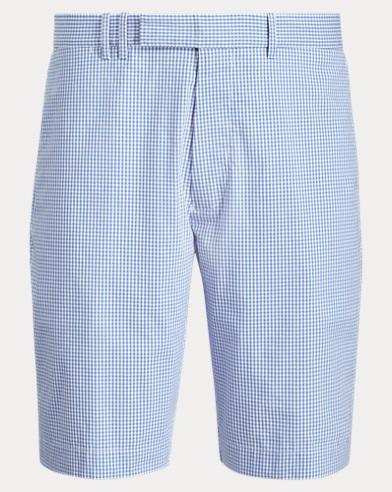 폴로 랄프로렌 Polo Ralph Lauren Classic Fit Golf Short,Magnolia Micro Gingham