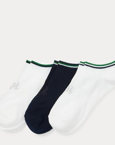 폴로 랄프로렌 Polo Ralph Lauren Low-Cut-Sock 3-Pack,Ncgrn