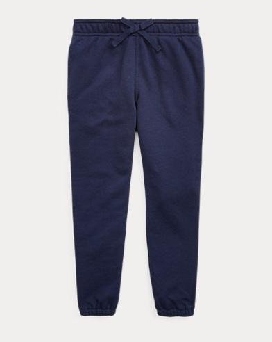 폴로 랄프로렌 여아용 팬츠 Polo Ralph Lauren Side-Stripe French Terry Pant,French Navy