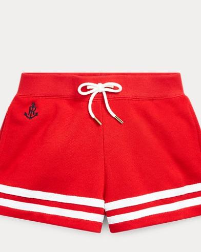 폴로 랄프로렌 Polo Ralph Lauren Striped French Terry Short,Rl2000 Red