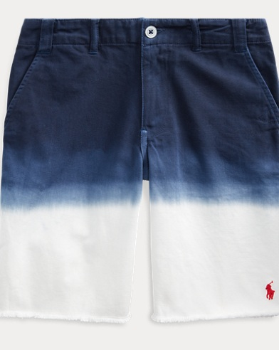 폴로 랄프로렌 Polo Ralph Lauren Straight Fit Dip-Dyed Short,Newport Navy Multi