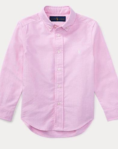 폴로 랄프로렌 셔츠 Polo Ralph Lauren Cotton Oxford Shirt,New Rose