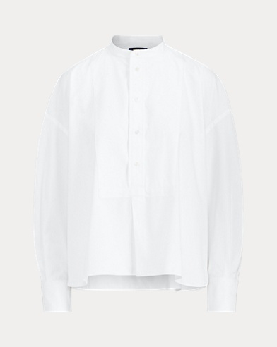 폴로 랄프로렌 Polo Ralph Lauren Cotton Broadcloth Shirt,White