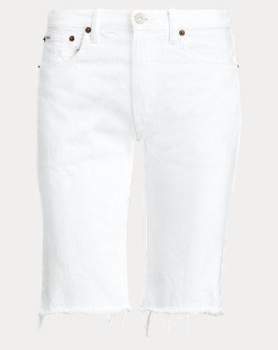 폴로 랄프로렌 보이즈 반바지 Polo Ralph Lauren The Cate Bermuda Short,White