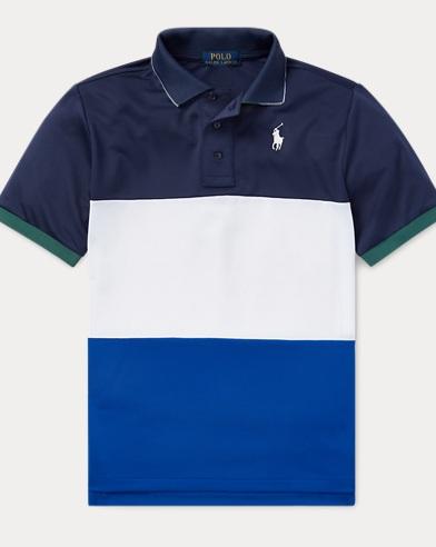 폴로 랄프로렌 Polo Ralph Lauren Performance Polo Shirt,Sapphire Star Multi