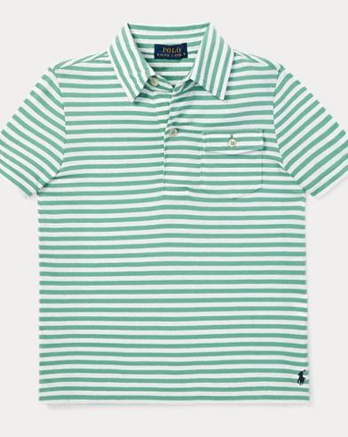 폴로 랄프로렌 남아용 반팔 폴로셔츠 Polo Ralph Lauren Cotton Jersey Polo Shirt,Haven Green Multi