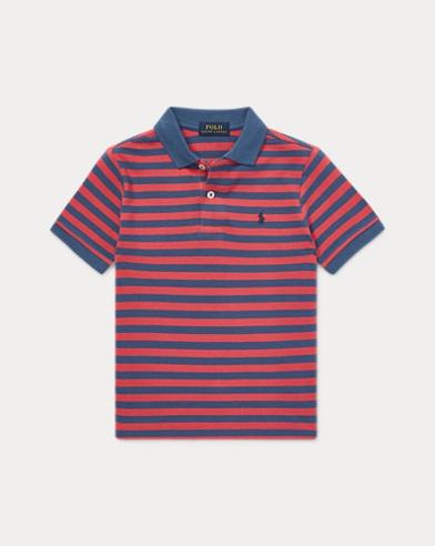 폴로 랄프로렌 남아용 경량 매시 반팔 폴로셔츠 Polo Ralph Lauren Featherweight Mesh Polo,Nantucket Red Multi