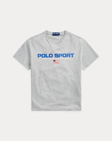 폴로 랄프로렌 Polo Ralph Lauren Classic Fit Polo Sport Tee,Andover Heather