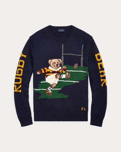 폴로 랄프로렌 Polo Ralph Lauren Kicker Bear Sweater,Navy