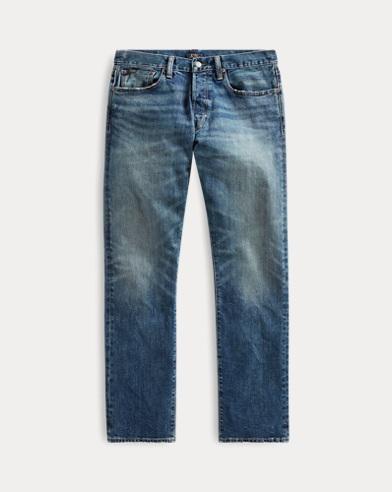 폴로 랄프로렌 스트레이트 청바지 Polo Ralph Lauren Varick Slim Straight Jean,Rivera Stretch