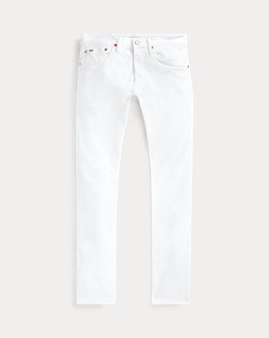 폴로 랄프로렌 Polo Ralph Lauren Varick Slim Straight Jean,Dover Stretch White