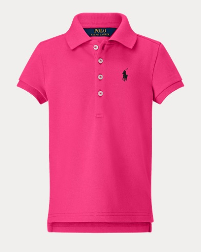 폴로 랄프로렌 Polo Ralph Lauren Stretch Pique Polo Shirt,Desert Pink