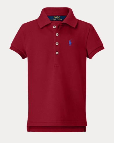 폴로 랄프로렌 Polo Ralph Lauren Stretch Pique Polo Shirt,Park Avenue Red