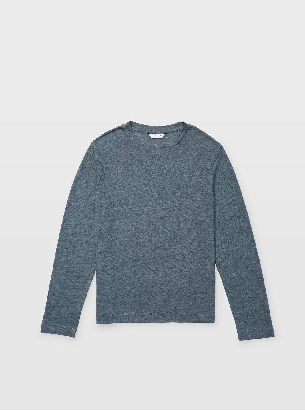 클럽 모나코 맨 리넨 긴팔 티셔츠 Club Monaco Long-Sleeve Linen Crew