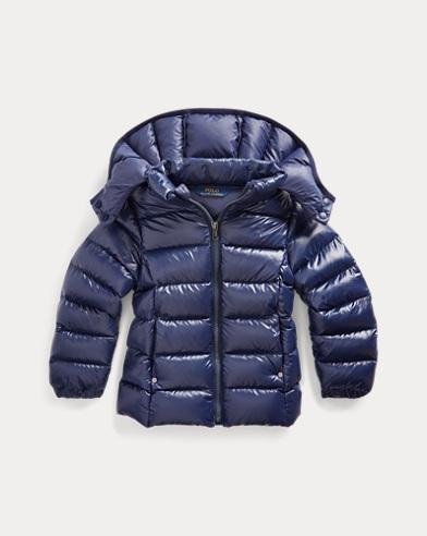폴로 랄프로렌 여아용 다운 자켓 Polo Ralph Lauren Quilted Down Jacket,French Navy