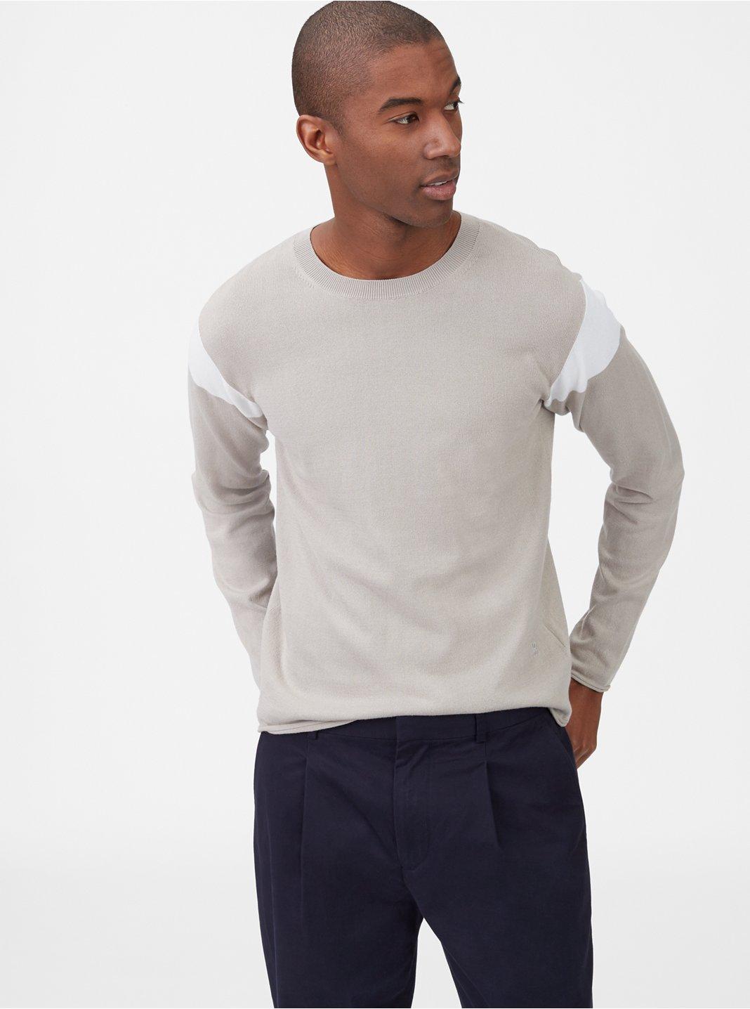 클럽 모나코 Club Monaco Colorblock Crewneck Sweater