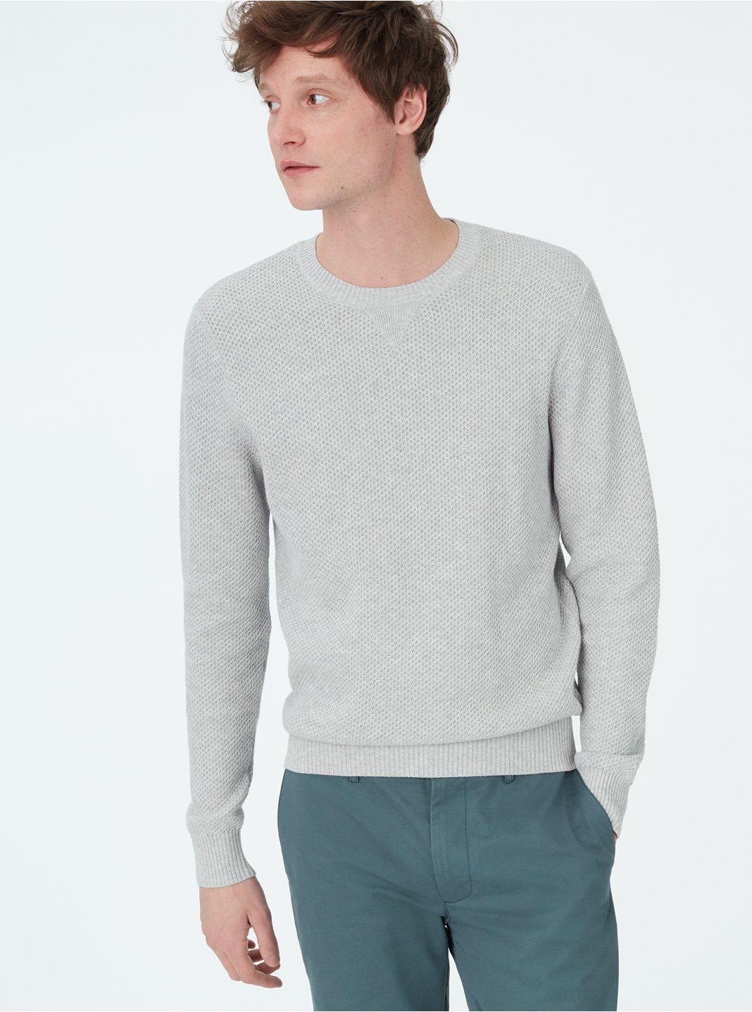 클럽 모나코 Club Monaco Stitch Crew Sweater