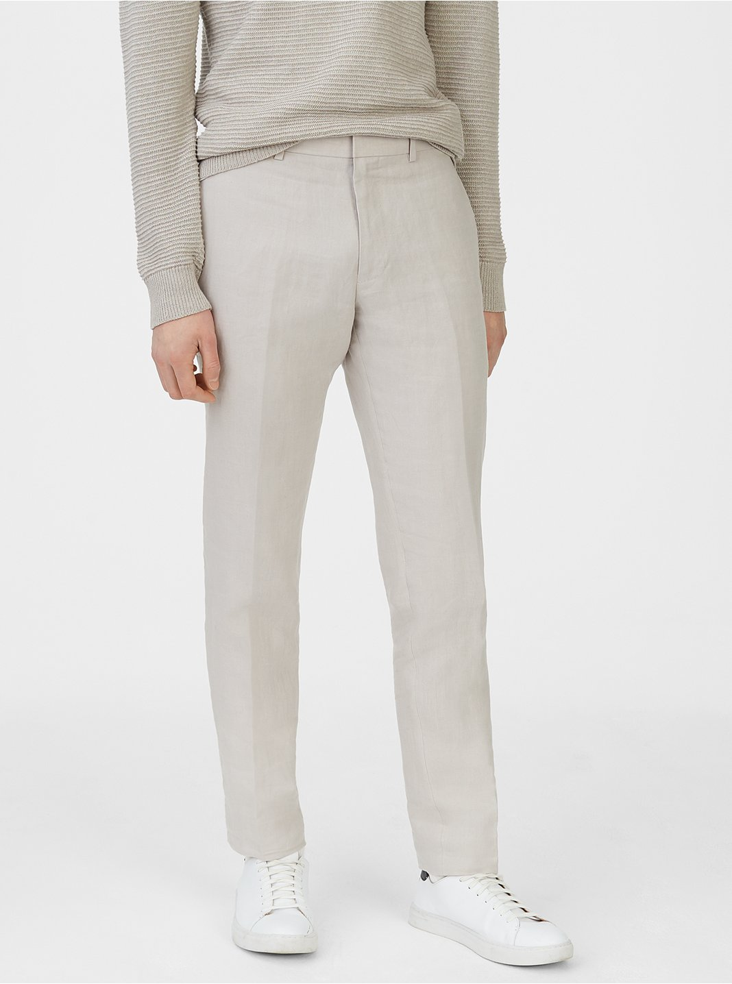 클럽 모나코 맨 Grant 리넨 팬츠 Club Monaco Grant Linen Trouser,Light Grey