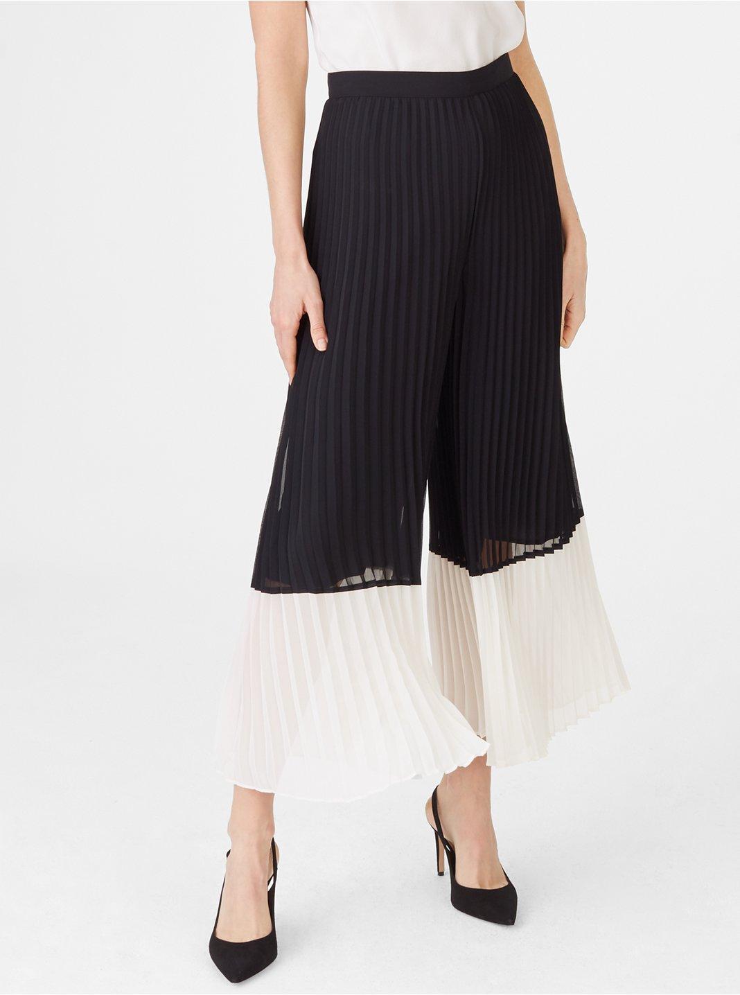 클럽 모나코 Club Monaco Jessyn Colorblock Pant,Black Multi