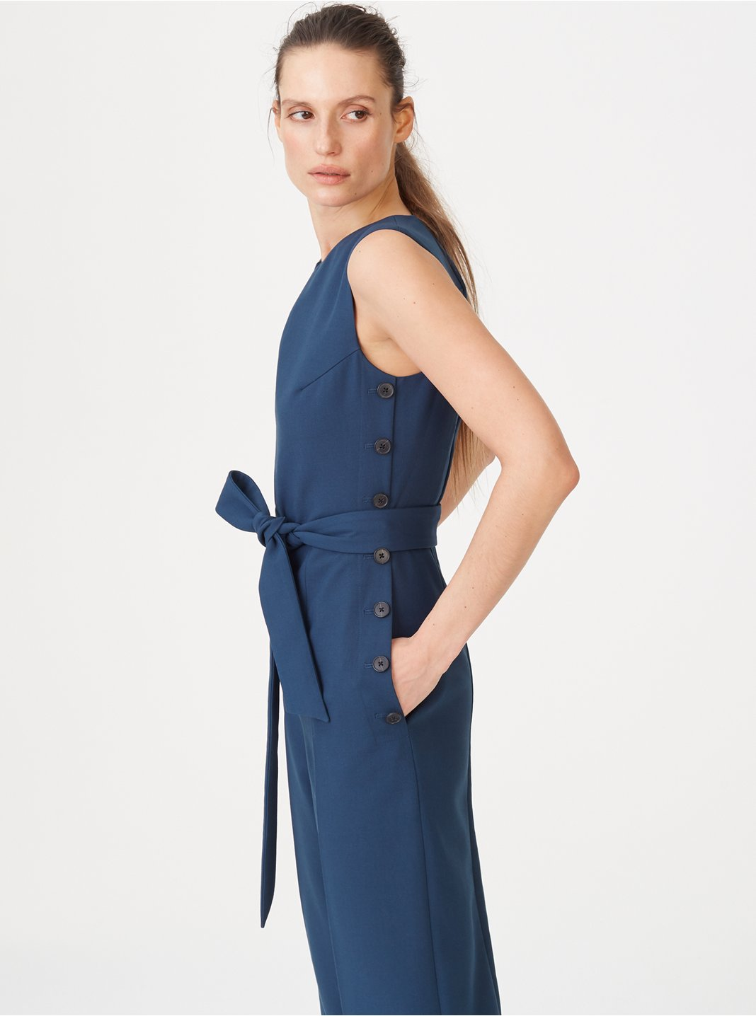 클럽 모나코 Klauss 점프수트 Club Monaco Klauss Jumpsuit,Canyon Blue