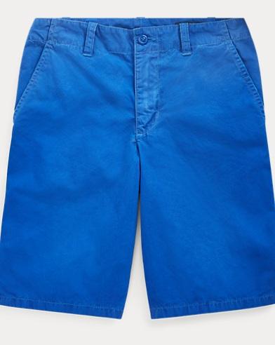 폴로 랄프로렌 Polo Ralph Lauren Straight Fit Cotton Short,Cruise Royal