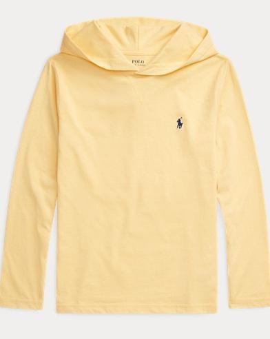 폴로 랄프로렌 Polo Ralph Lauren Cotton Jersey Hooded Tee,Empire Yellow