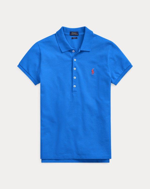 폴로 랄프로렌 Polo Ralph Lauren Slim Fit Stretch Polo Shirt,Lemon Crush