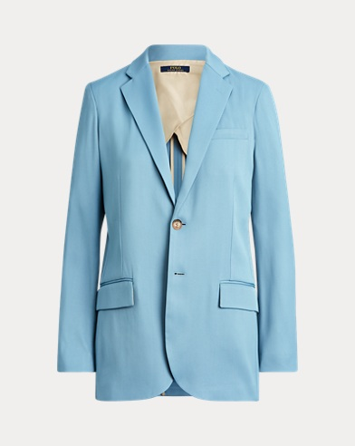 폴로 랄프로렌 Polo Ralph Lauren Straight Fit Blazer,Channel Blue