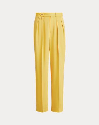 폴로 랄프로렌 바지 Polo Ralph Lauren Wool-Blend Pant,Athletic Gold
