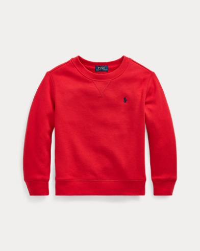 폴로 랄프로렌 Polo Ralph Lauren Cotton-Blend-Fleece Sweatshirt,RL 2000 Red