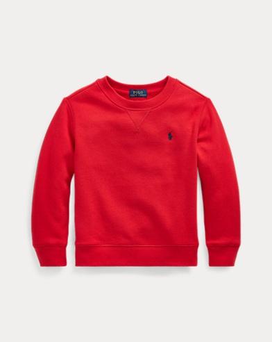 폴로 랄프로렌 남아용 스웻셔츠 Polo Ralph Lauren Cotton-Blend-Fleece Sweatshirt,RL 2000 Red
