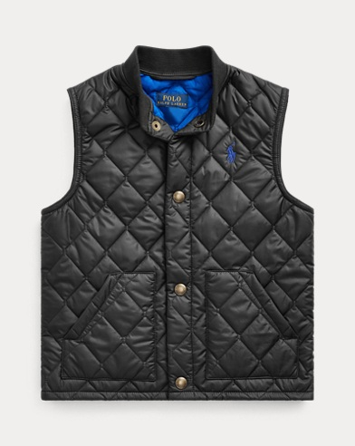 폴로 랄프로렌 Polo Ralph Lauren Quilted Vest,Polo Black