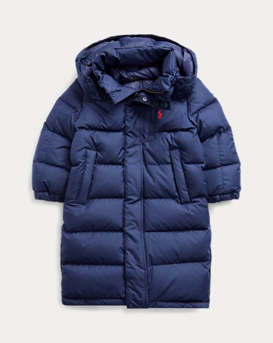폴로 랄프로렌 보이즈 코트 Polo Ralph Lauren Down Hooded Coat,French Navy