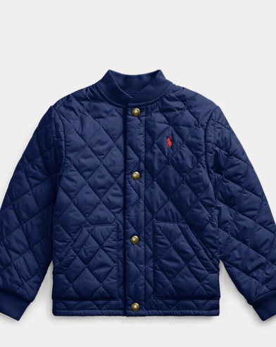 폴로 랄프로렌 보이즈 자켓 Polo Ralph Lauren Quilted Jacket,French Navy
