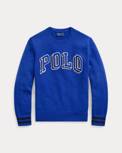 폴로 랄프로렌 Polo Ralph Lauren Polo Cotton Crewneck Sweater,Heritage Royal