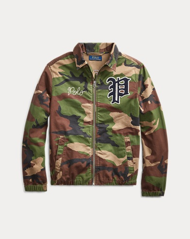 폴로 랄프로렌 보이즈 바람막이 Polo Ralph Lauren Bayport Camo Windbreaker,Surplus Camo