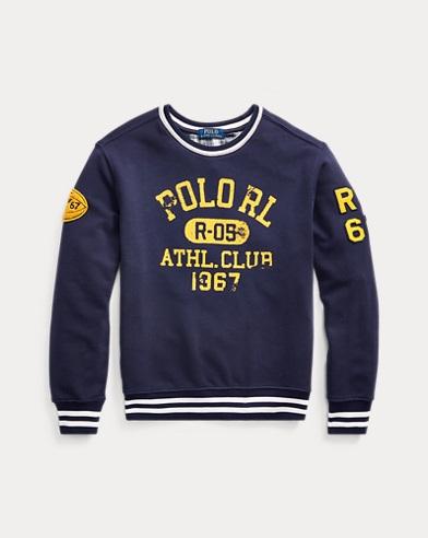 폴로 랄프로렌 Polo Ralph Lauren Cotton French Terry Sweatshirt,French Navy