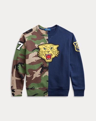 폴로 랄프로렌 Polo Ralph Lauren Fleece Graphic Sweatshirt,Camo