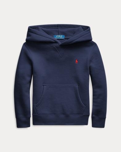 폴로 랄프로렌 남아용 후드 티셔츠 Polo Ralph Lauren Cotton-Blend-Fleece Hoodie,French Navy