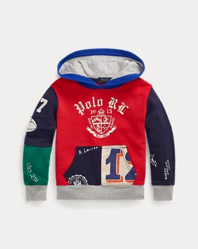 폴로 랄프로렌 남아용 후드 티셔츠 Polo Ralph Lauren Cotton French Terry Hoodie,RL 2000 Red
