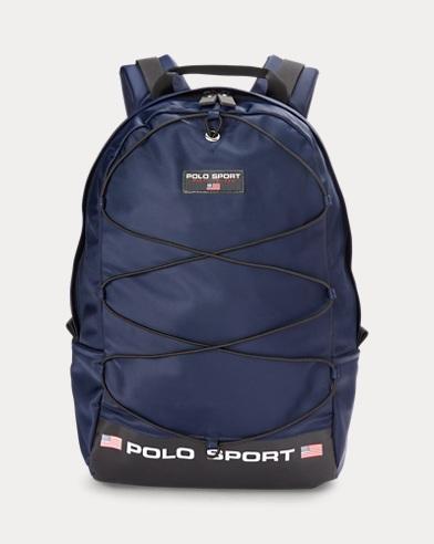 폴로 랄프로렌 Polo Ralph Lauren Nylon Polo Sport Backpack,Navy