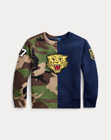 폴로 랄프로렌 Polo Ralph Lauren Fleece Graphic Sweatshirt,Camo